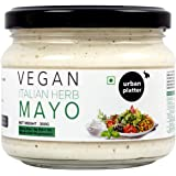 Urban Platter Vegan Italian Herb Mayo, 300g / 10.6oz [Dairy-Free Mayonnaise, No Palm Oil, No Trans-Fat]