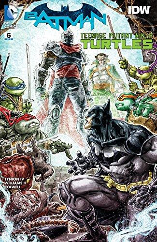 Batman/Teenage Mutant Ninja Turtles (2015-2016) #6 (English ...