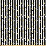 ABAKUHAUS Gestreift Stoff als Meterware, Vertikale Linien