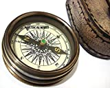 Brass Compass pocket compass