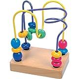 Bino - 84163 - Circuit de motricité - Lupilo - Perles - jaune/bleu