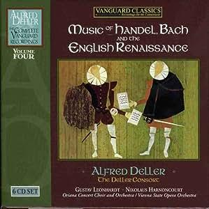 Alfred Deller : Intégrale des enregistrements Vanguard - Vol. 4
