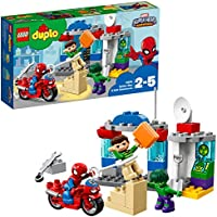LEGO UK 10876 DUPLO Spider-Man and Hulk Adventures Marvel Superhero Toy