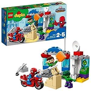 LEGO Duplo - Super Heroes - le Avventure di Spider-Man e Hulk, 10876 LEGO