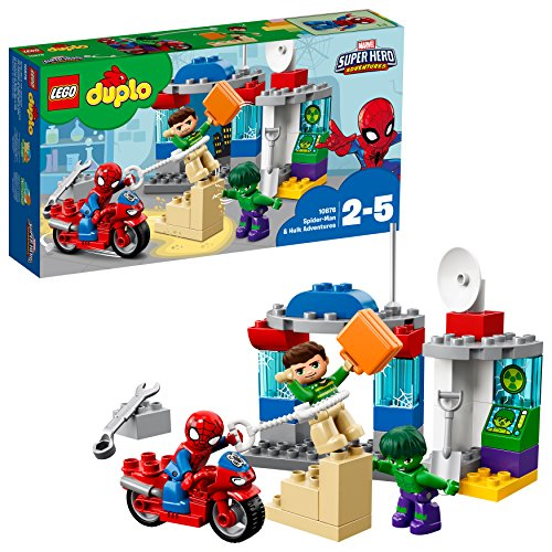 LEGO Duplo Super Heroes Spider-Man and Hulk Adventures, única (10876)