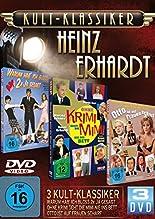 Kultklassiker mit Heinz Erhardt (3DVDs: Ohne Krimi geht die Mimi nie ins Bett, Otto ist auf Frauen scharf, Warum hab' ich bloß zweimal ja gesagt) hier kaufen