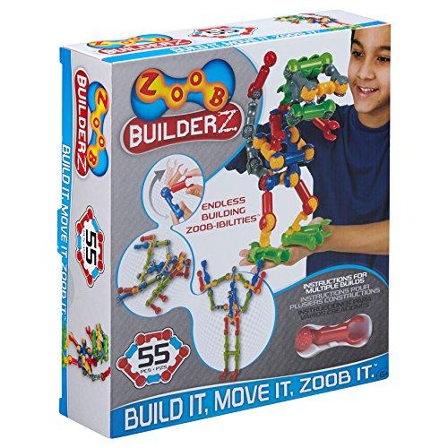 Zoob 0Z11055 BuilderZ Set da Costruzione da 55 Pezzi