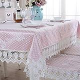 fwerq Fabric Tischdecke, Spitze Tischdecke, Tischdecke, im europäischen Stil Nachttisch Lappen und Handtuch Spitze tv Abdeckung - 75 x 230 cm (30 x 91 Zoll)