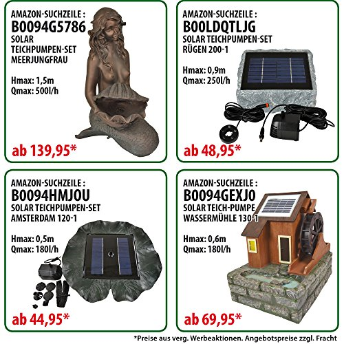 Amur Solar Teichpumpe Oasis - 6