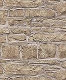 Arthouse Église Papier peint Pierre naturelle 697100Imitation brique Mur de pierre