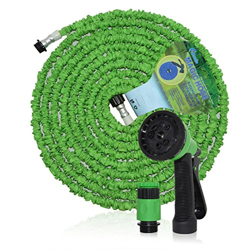 F.Dorla Expandable Garden Hose 100ft Green ,