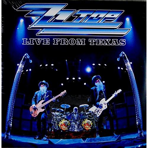 Live From Texas (Silver Vinyl) (VINYL) - Zz Top - 2017