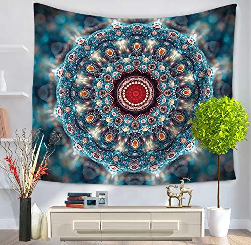 jixiaosheng Tapicería Mandala Serie Tapiz Decorativo