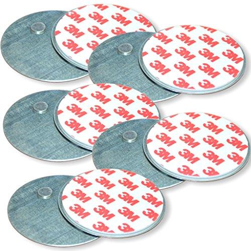 Summit 5 Stück Magnetbefestigung, Magnethalterung für Rauchwarnmelder/Rauchmelder