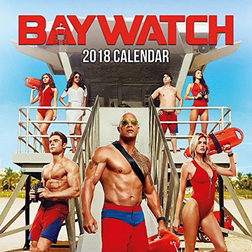 Baywatch - Offizieller Film Kalender 2018 - Größe 30x30 + 1 empire® Jahresplaner 2018 gefaltet, 91,5x61 cm