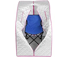 Sauna Vapeur Portable Pot, Portable Spa Tente sauna à vapeur Steamer 2L pour Salon, Désintoxication, Visage Corps Minceur