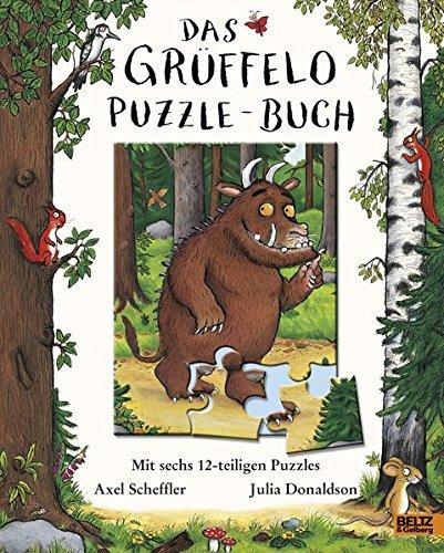 Buchseite und Rezensionen zu 'Das Grüffelo-Puzzle-Buch: Mit sechs 12-teiligen Puzzles' von Axel Scheffler