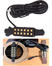 Xtag Guitar Pickup Contact Mic. Black Clip-On Acoustic Guitar Pickup Sound Amplify-15205409MG