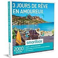 SMARTBOX - Coffret Cadeau - 3 JOURS DE RÊVE EN AMOUREUX - 2000 SÉJOURS : maisons d'hôtes, d'hôtels de charme, d'auberges et de domaines