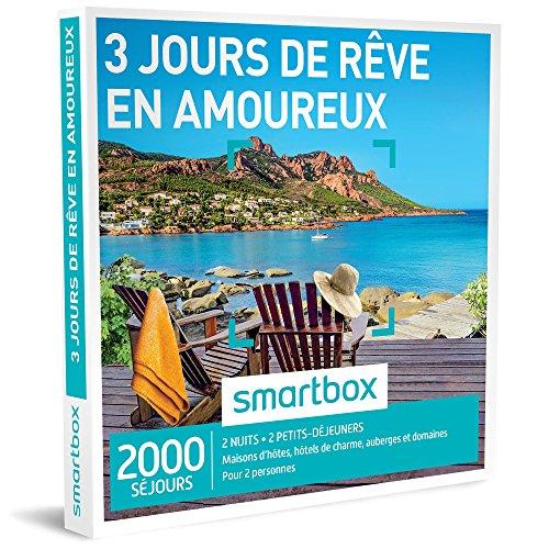 SMARTBOX - Coffret Cadeau - 3 JOURS DE RÊVE EN AMOUREUX -...