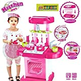 [Sponsored]Toy-Station - Pretend Play Set (Luxury Battery Operated Kitchen Play Set For Kids, Multi Color)