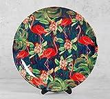 #7: Moksha Hansa 10 inch Wall Plate and Snacks Platter