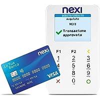 Nexi - Mobile Pos - Lettore Elettronico Portatile Contactless per Bancomat, Carta di Credito, Prepagata, Apple Pay e…
