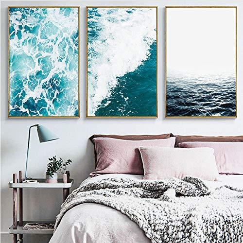 RTCKF Leinwand malerei Moderne Inkjet surf Wohnzimmer schlafsofa Hintergrund dekorative malerei Kern ohne Rahmen A2 30 cm * 40 cm (kein Rahmen)