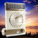 Die besten Startseite Taschenlampen - TOOGOO Multifunktions-Portable Fan Startseite LED Tischleuchte Outdoor Solar Bewertungen