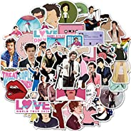 Singer Harry Stickers of 50 Vinyl Decal Merchandise Laptop Stickers for Laptops, Computers, Hydro Flasks, Skat