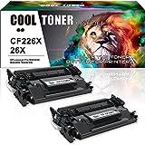 Cool Toner Compatible Toner pour CF226X 26X Cartouche de Toner Compatible pour HP Laserjet Pro MFP M426dw M426fdw M426fdn HP Laserjet Pro M402dn M402n M402d M402dw,Noir, 2-Pack,9000 Feuilles