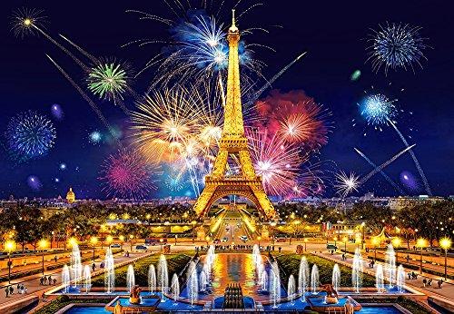 Castorland c-103997Puzzle 1000PC-Glamour of The Night, Paris