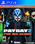 Payday 2 is the latest addition to the Payday family and it's packed with the most content in the history of the franchise. Payday 2: The Big Score has all the DLC from Payday 2 that has been released up through the end of 2015. That's right, all the...
