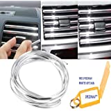 Speedwav 3 Meters U Shape DIY Rope Car-styling Interior Air Vent Grille Switch Rim Trim Outlet Decoration Strip Moulding…