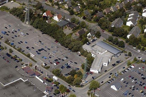 MF Matthias Friedel - Luftbildfotografie Luftbild von Grandkuhlenweg in Lurup (Hamburg), aufgenommen am 10.08.04 um 12:13 Uhr, Bildnummer: 3100-32, Auflösung: 3000x2000px = 6MP - Fotoabzug 20x30cm