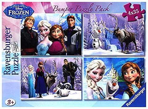 Disney Frozen Bumper Puzzle Pack
