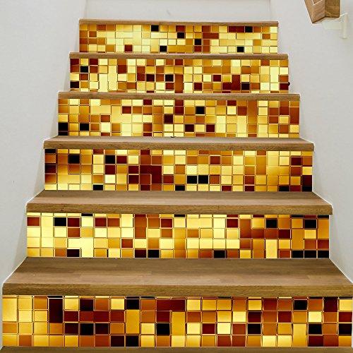 escaliers-en-mosaique-dor-et-dargent-3d-autocollant-autocollants-auto-adhesifs-de-bricolage-escalier