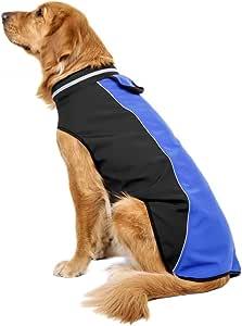 Hawkimin per Immersioni e attivit/à Sportive Cappotto Impermeabile per Cani
