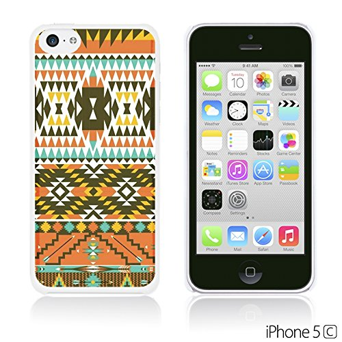 OBiDi - National Pattern Hardback Case / Housse pour Apple iPhone 5C - Colorful Elephant ArtWork Colorful Aztec Pattern