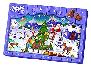milka adventskalender weihnachten sortiert 1er pack 1 x. Black Bedroom Furniture Sets. Home Design Ideas