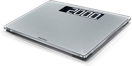 Soehnle Style Sense Comfort 600 Personen Digitalwaage mit Tragkraft bis 200 kg, Waage mit extragroßem LCD-Display, Personenwaage für sicheren Stand