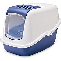 Nestor Cat Toilet Home, 22 x 15 x 15 inch, Nordic Blue