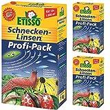 3 x 1 kg ETISSO Schnecken-Linsen Profi-Pack Schneckenmittel