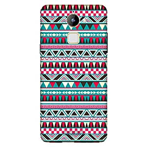 Bhishoom Designer Printed Back Case Cover for Coolpad Note 3 Lite :: Coolpad Note 3 Lite Dual SIM (Aztec Art :: Texture And Patterns :: Artistic :: Girlish)
