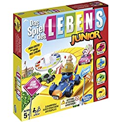 Hasbro Gaming B0654GR0 - Das Spiel des Lebens Junior Kinderspiel Das Spiel des Lebens