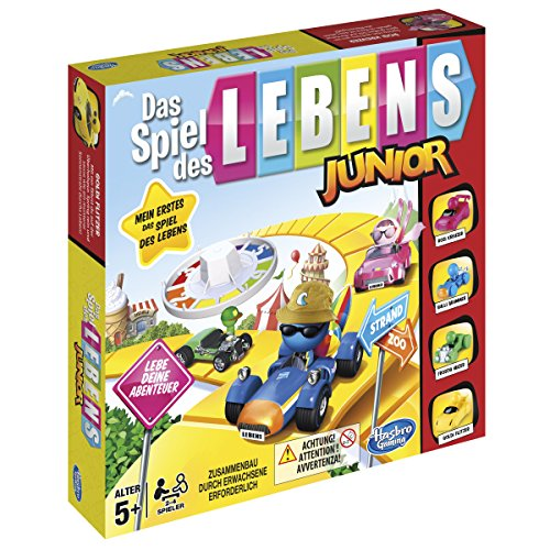 Hasbro The Game of Life Junior Game - Juego de tablero