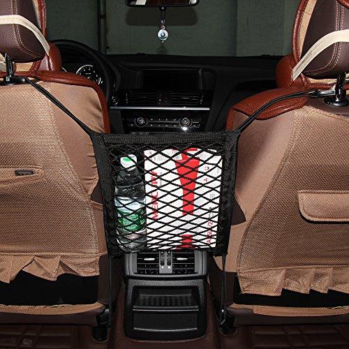 9Moon® Auto-Ablagenetz, Tasche, Schwarz