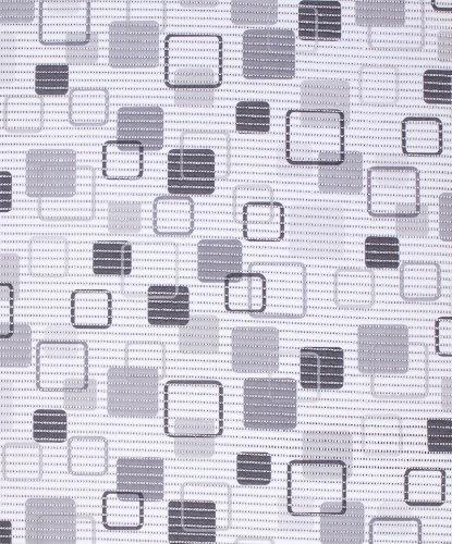 Badvorleger, Aquamat Antirutsch Matte, Bodenbelag, Bad Garten Küche, 100x65 cm, Länge wählbar, Retro Grau