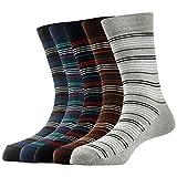 #6: Arrow Men's Formal Short Calf Length Cotton Socks Pack Of 5 Pair