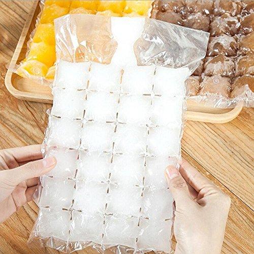 huihuger Cube Form selbstverschließende Einweg Ice Cube Tasche Cube Mould Ice Trinken Tool